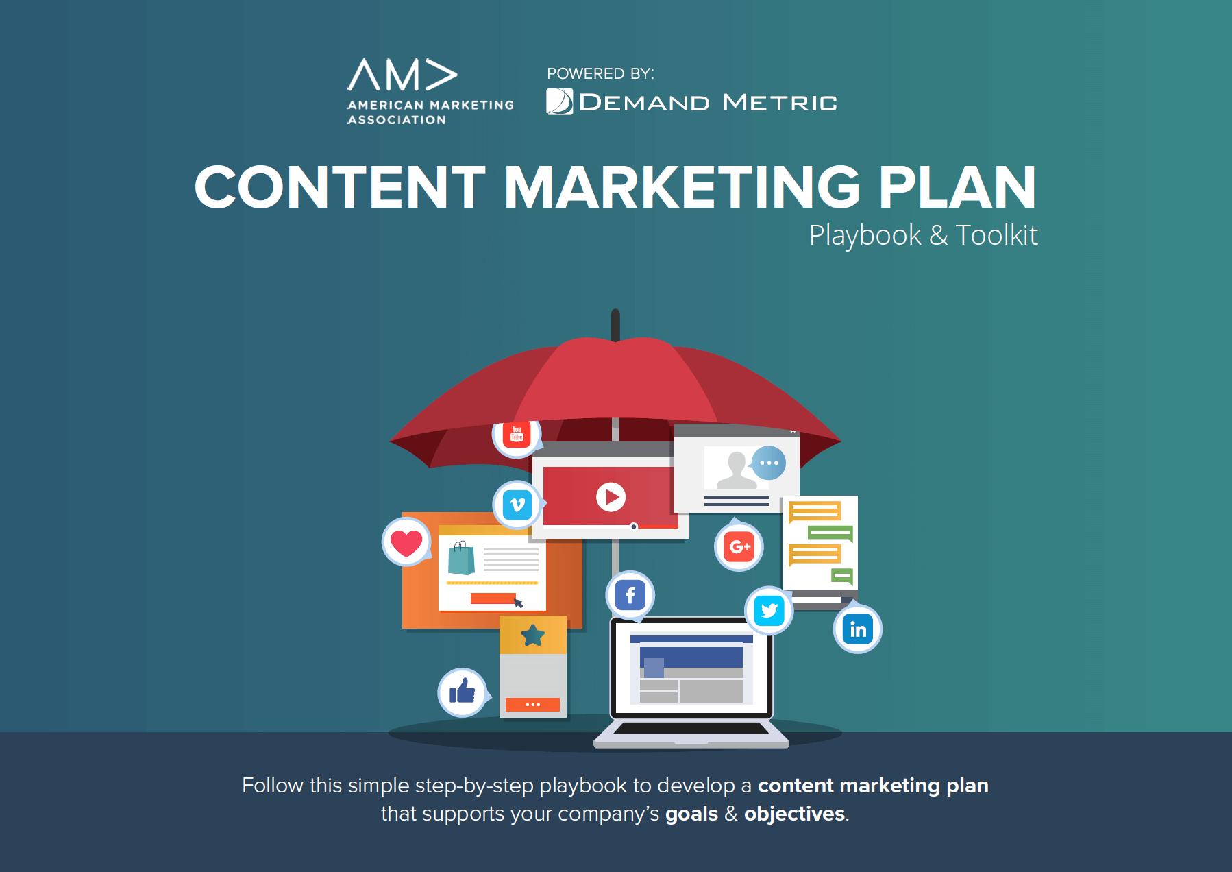 AMA content marketing plan
